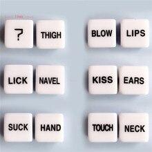 Exotic อุปกรณ์เสริม Bdsm Bondage ลูกเต๋า Love ตำแหน่งเร้าอารมณ์ Craps Pipe ผู้ใหญ่เพศของเล่นสำหรับคู่ Noctilucent เกม Party Club