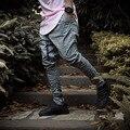 6 colores pantalones de Chándal Justin Bieber Pantalones Para Hombre Joggers Kanye Yeezy Temor de Dios Mono Ropa Urbana Hombres Harem Ocasional Pantalones