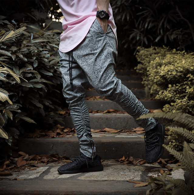 6 colors Sweatpants Justin Bieber Kanye Yeezy Fear of God Trousers Mens Joggers Jumpsuit Urban Clothing Casual Harem Men Pants