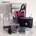 2016 New Arrival freeshipping Portable Mini 8 Multi  Microphone Megaphone Loudspeaker 3 in 1