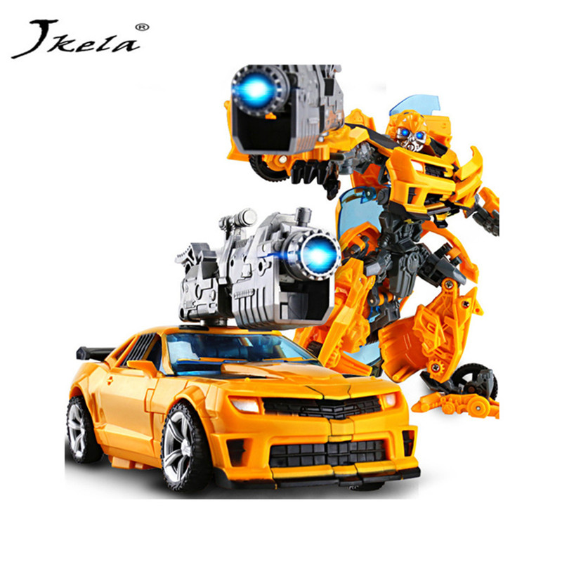 [Jkela] Cartoon toy Transformation Robot Plastic Cars Action Figure Toys for Children Educational Toy for Christmas gifts
