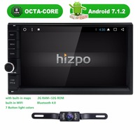 2 Din 7 Inch Android 7 1 Universal Car NO DVD Player Octa Core Bluetooth Car