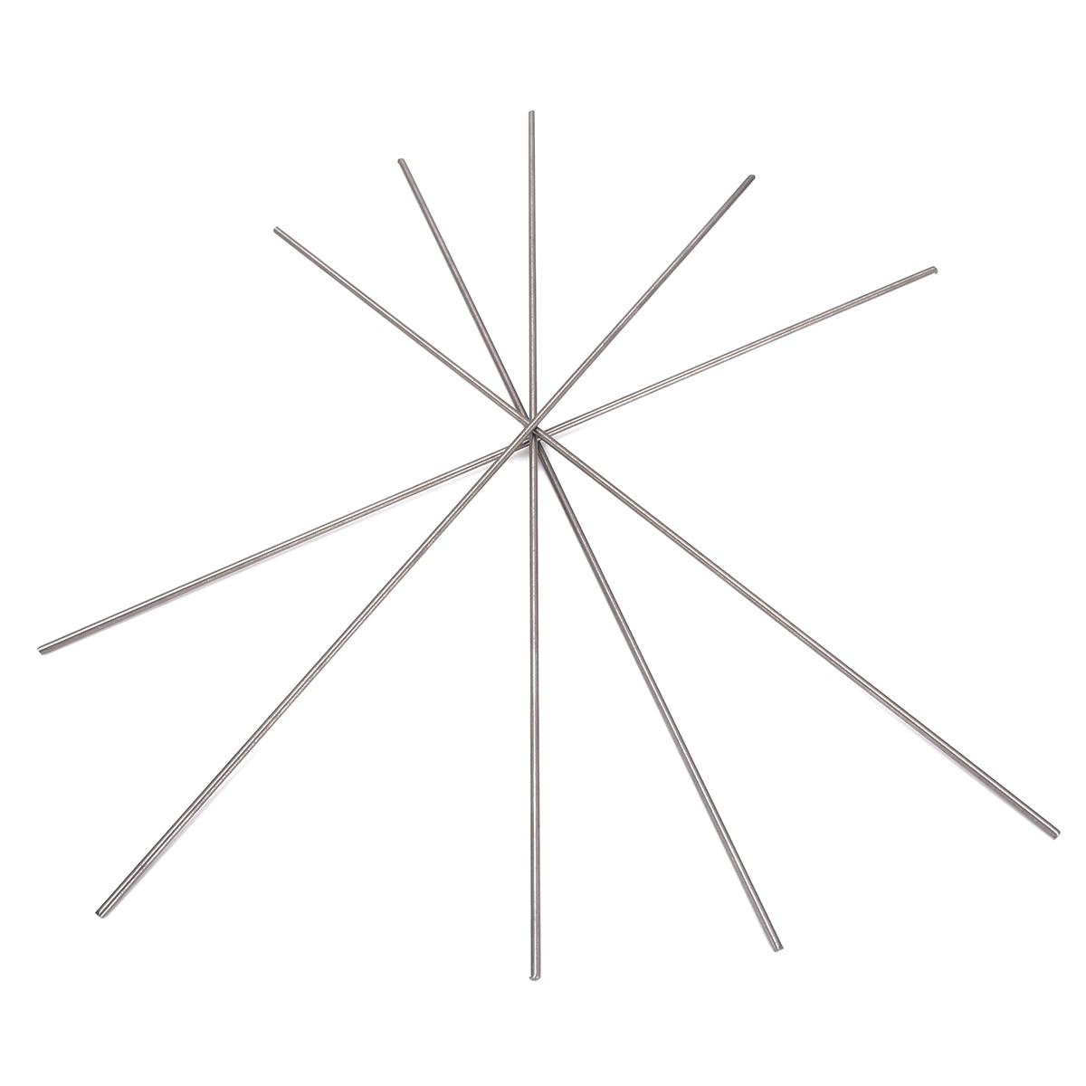 5 шт. круглый титановый Ti Бар класс 5 GR5 металлический стержень диаметр 2 мм длина 250 мм 10 дюймов для производства компонентов газовой турбины