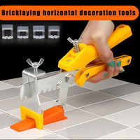 100Pcs multitul Reusable Tile Leveling System Clips/Wedges Wall Floor Spacers Tilling Supplies cutter multi-tool LB88