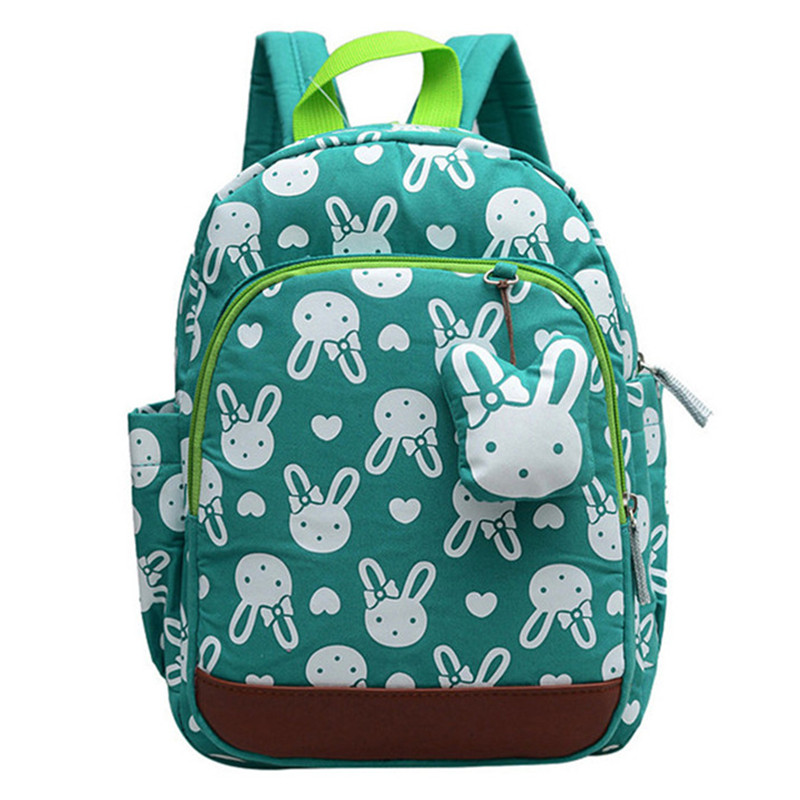 2017 School Backpack Anti-lost Kids Baby Bag Cute Animal Prints Children Backpacks Kindergarten School Bag Aged 1-3
