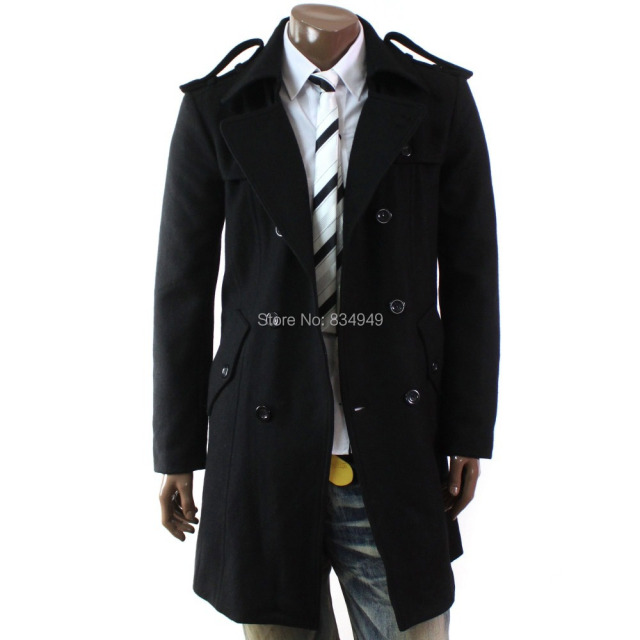Aliexpress.com : Buy Custom Made Trench Coat Men, Winter Overcoat ...