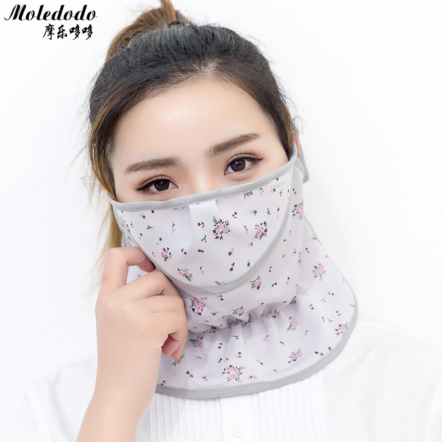 30pcs/lot Adult sunscreen face mask Ice silk Women Sunscreen breathable anti - UV masks women 's dust mouth mask Summer D40 jaisati sunscreen veil summer dust masks breathable cycling driving neckscreen thin mask