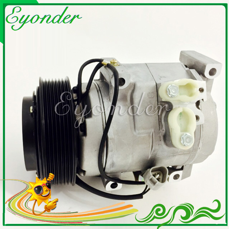 Compresseur de climatisation AC A/C pour Toyota Land Cruiser Prado 120 GRJ120L GRJ120 1GR-FE 88320-35700 88320-6A540 883206A011