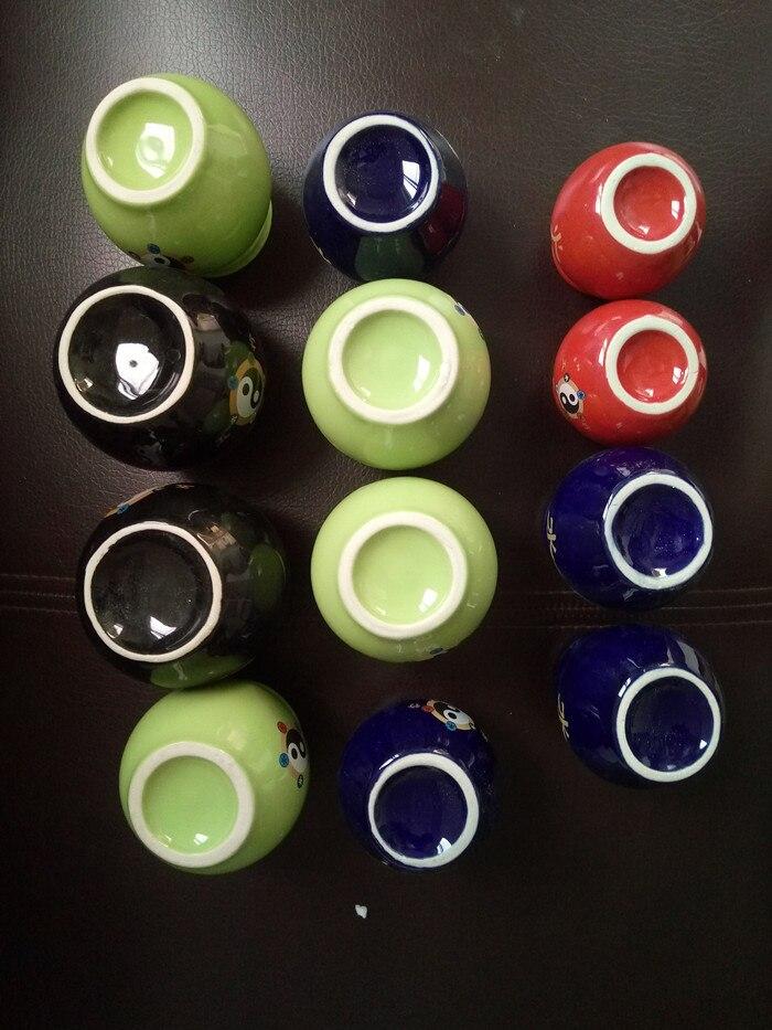12 pièces santé réservoir Massage tasse minceur beauté en céramique traitement Pot ventouses feu Pot thérapie soin outil corps - 3