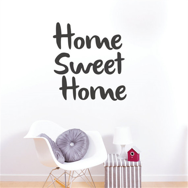 home sweet home quote wall sticker family wall quotes vinyl