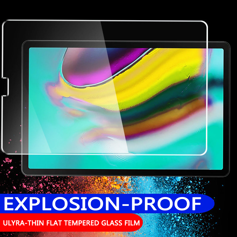 Tempered Glass For Samsung Galaxy Tab S6 S5e A 10.1 Inch 2019 10.5 2018 S4 S3 S2 Screen Protector Full Coverage 2016 A6 9.7