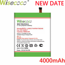 Wisecoco LI3931T44P8h756346 4000mAh New Battery For ZTE Axon 7 5.5inch A2017 Phone battery+Tracking Number