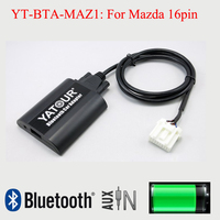Yatour BTA Bluetooth Aux car stereo adapter Interfaces for Mazda 16pin