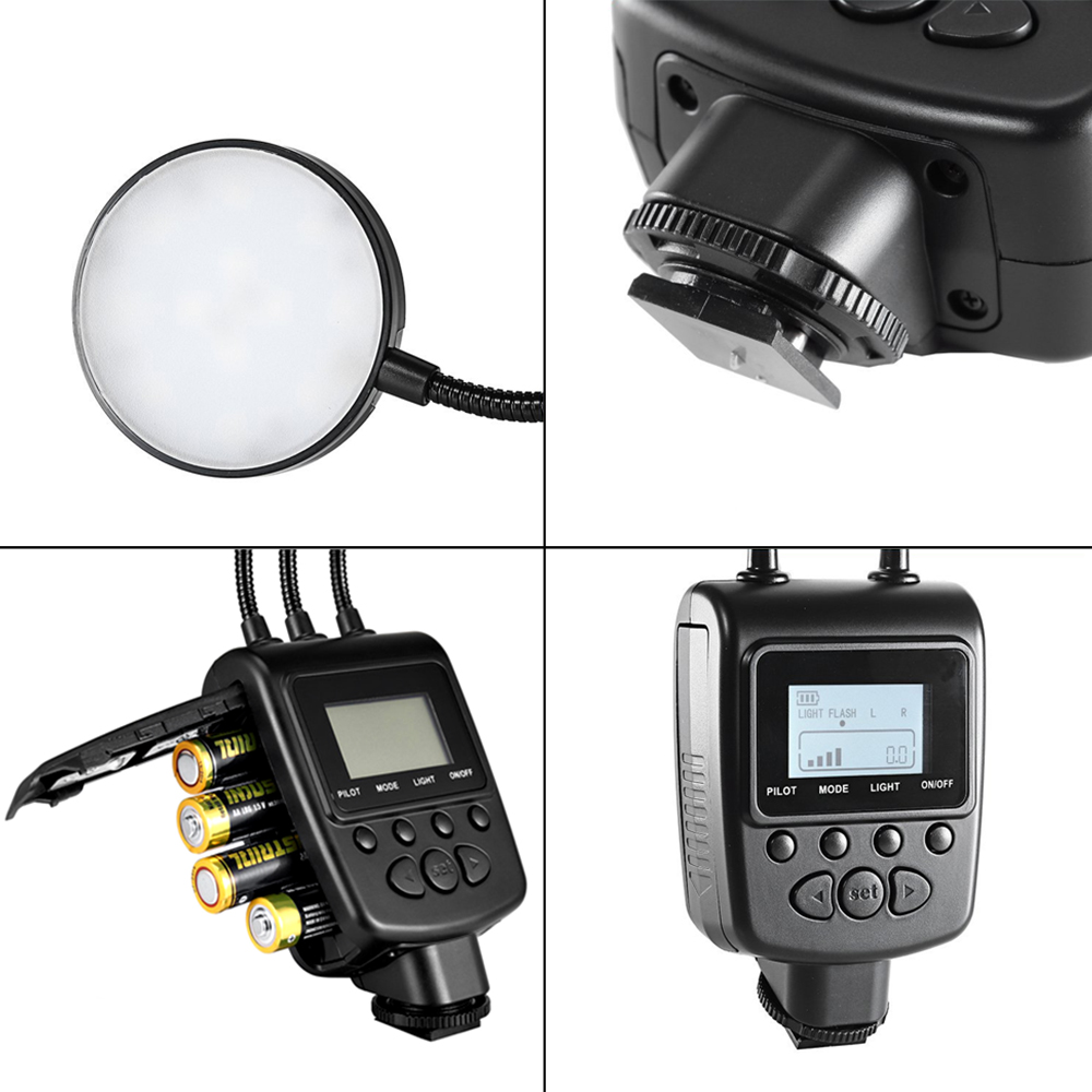 Travor Macro Ring Flash Light for most model of Canon Nikon Sony Panasonic Sony Camera 5