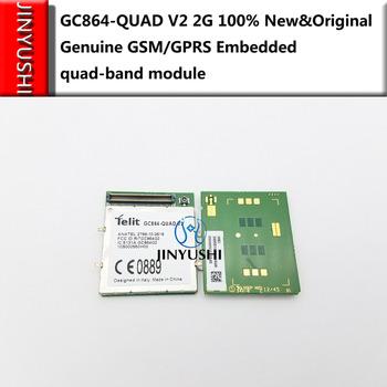 JINYUSHI 40 sztuk GC864-QUAD V2 GC864 2G 100 nowy i oryginalny oryginalny GSM GPRS wbudowany moduł antenowy quad 1 sztuk darmowa wysyłka tanie i dobre opinie wireless Wewnętrzny CN (pochodzenie) Zdjęcie EDGE