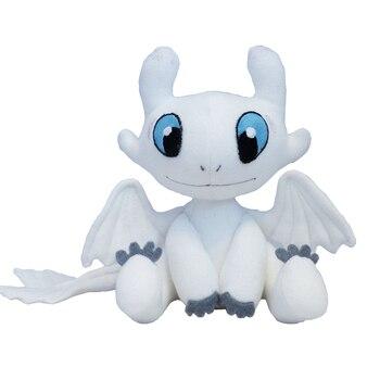 How to Train Your Dragon 3 Plush Toy Light Fury Soft White Dragon Stuffed Doll Christmas