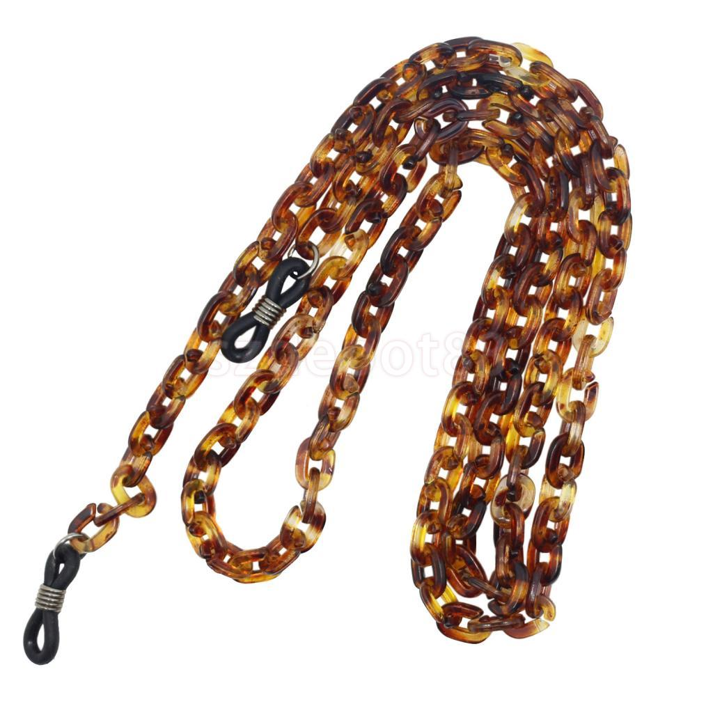 PVC Loop Chain Sports Strap Cord Lanyard Holder Sunglass Eyeglass Spectacle Necklace Chain Holder in Eyewear Accessories from Apparel Accessories