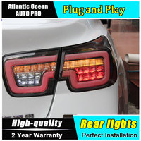 Car Styling LED Tail Lamp for Chevrolet Malibu Taillights Korea vision Rear Light DRL+Turn Signal+Brake+Reverse auto Accessories