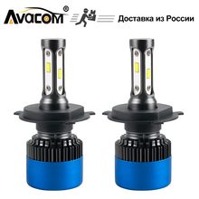 H4 H1 H7 LED Bulb Car Headlight 12V Mini Lamp H3 9005/HB3 9006/HB4 9012/Hir2 6500K White 12000Lm 80W H11/H8 LED Auto Light(China)