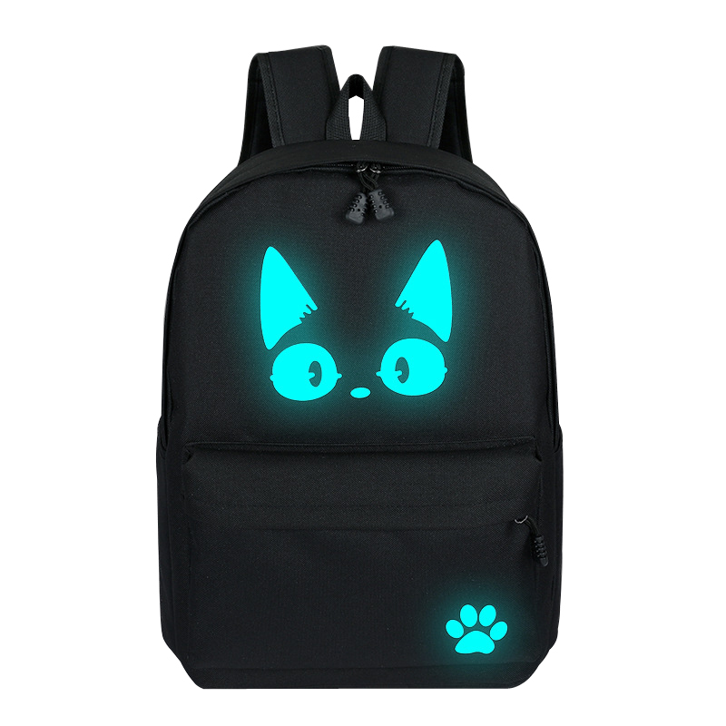 School-Backpacks Cartoon Bag Teenagers Girls Luminous Student Cute
