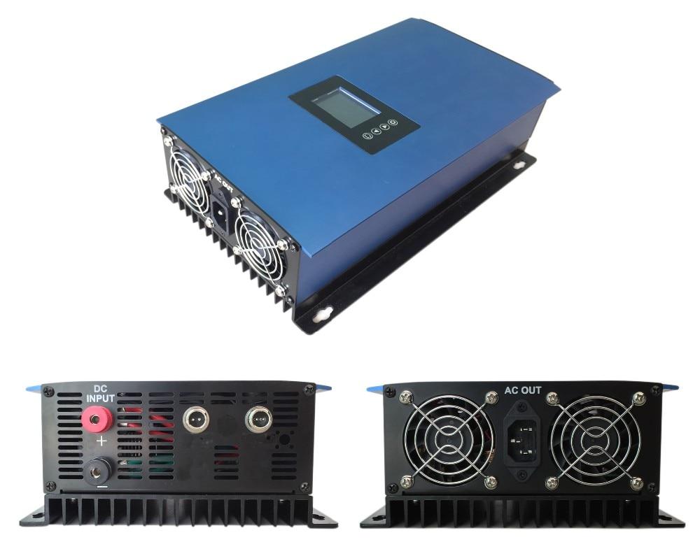 LCD 1000W Solar Grid Tie inverter with limiter,MPPT pure sine wave power inverter DC22-60V/45-90V 230V AC 1000w grid tie micro solar power inverter with power limiter dc22 60v ac 90 130v or 190 260v for 30v or 36v pv panels