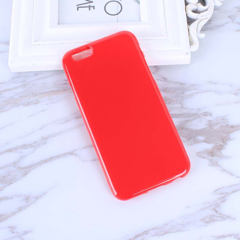 HTB1vL0EePgy uJjSZR0q6yK5pXaz - FREE SHIPING Candy Color TPU Rubber Silicone Soft Gloss Phone Cases Back Cover For iPhone 6 6s 7 8 Plus 5 5s SE X JKP387