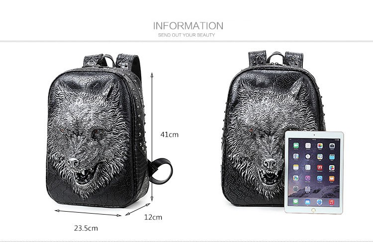 wolf head backpack (3)