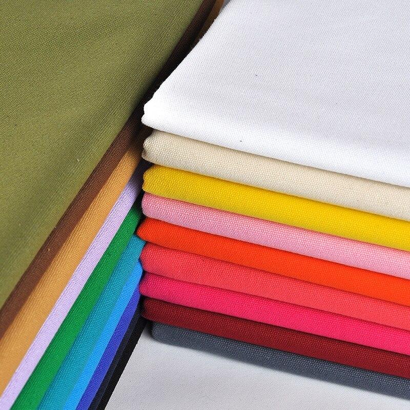 50x145 cm Lona de Algodão Colorido Cortina Sofá Capa de Tecido Para Patchwork Diy Costura Artesanato Material Têxtil Telas Tecido