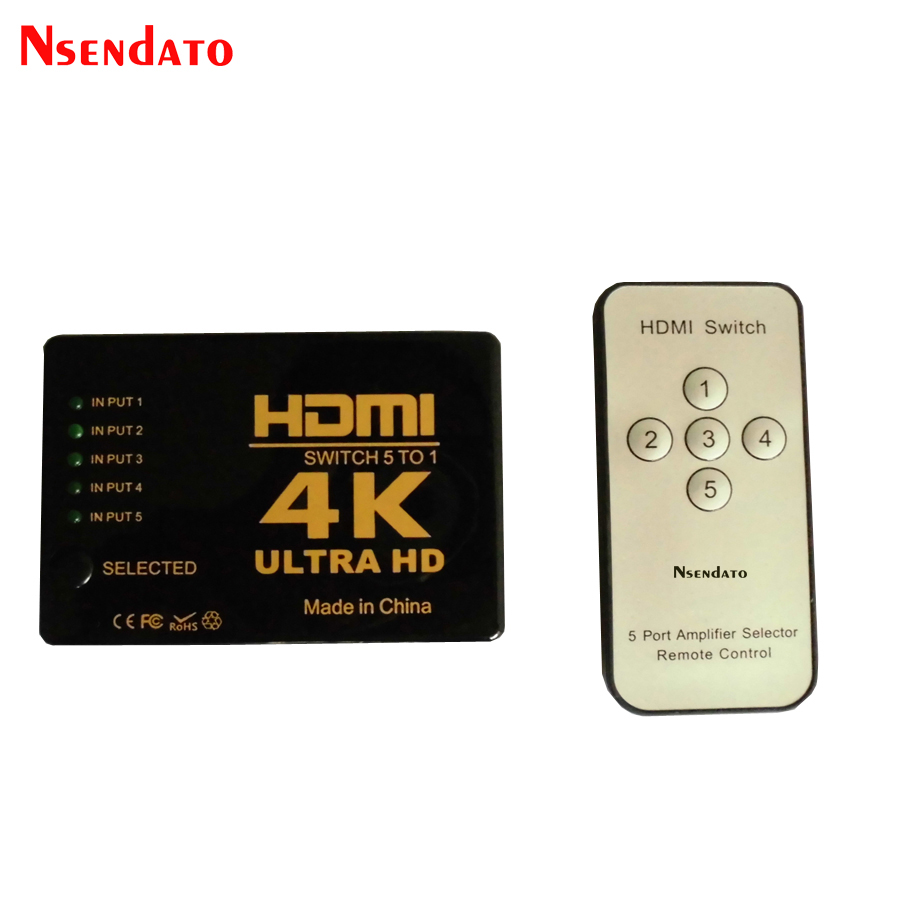best top hdmi switch 4k 5 port brands and get free shipping