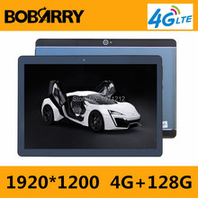 2019 Newest Android 7.0 8 Core 10'' Tablet PC 4GB RAM 128GB ROM inch 1920X1200 8MP 5500mAh WIFI GPS 4G LTE  free shipping