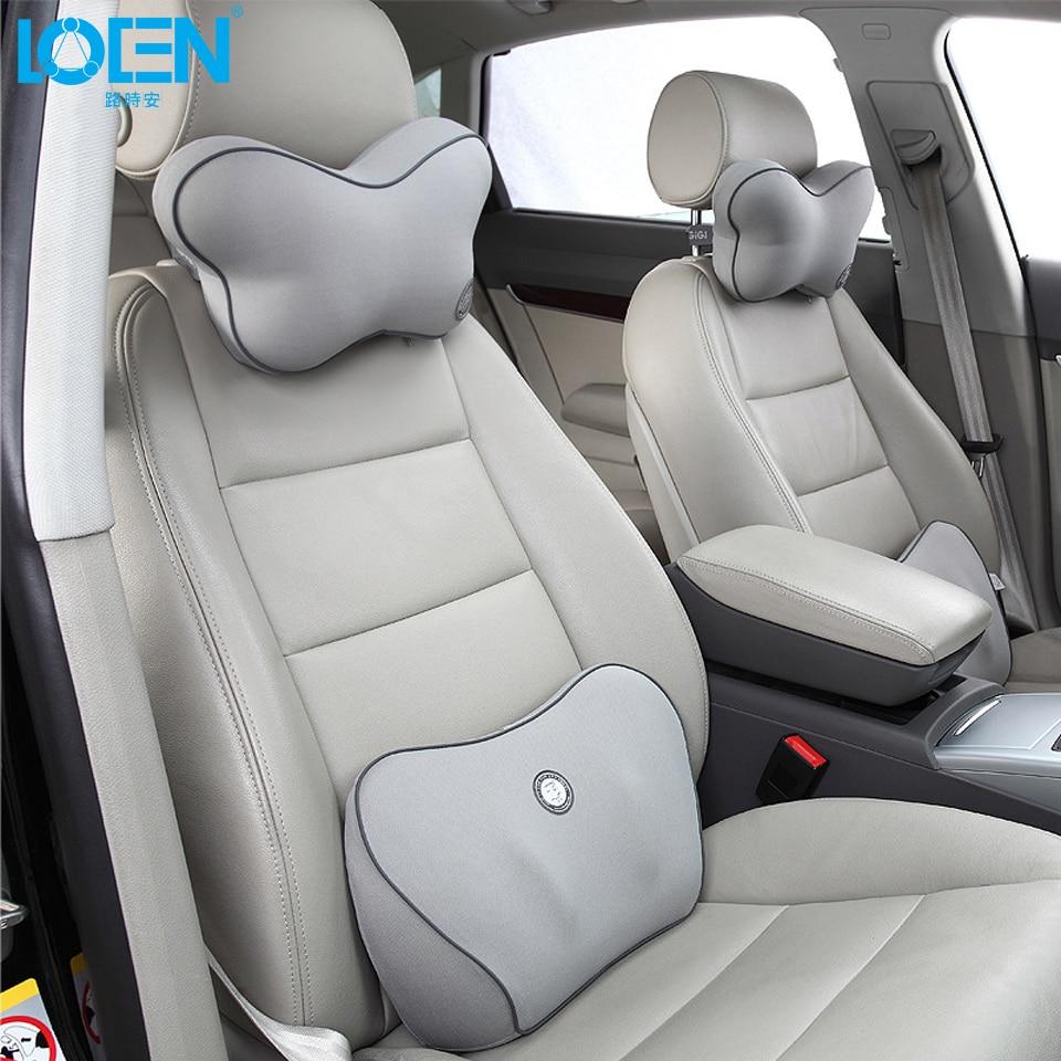 Cuscino collo auto di alta qualità Supporto per la vita Set Supporto - Accessori per auto interni