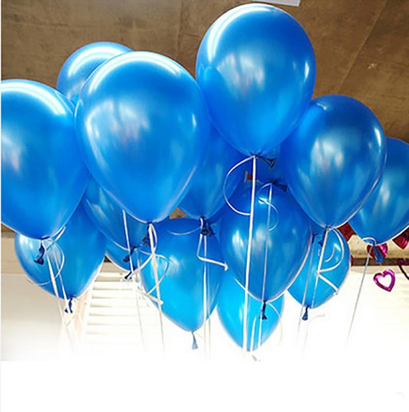 20pieces/lot 10inch 1.2g Blue Latex Blue Ocean Balloon