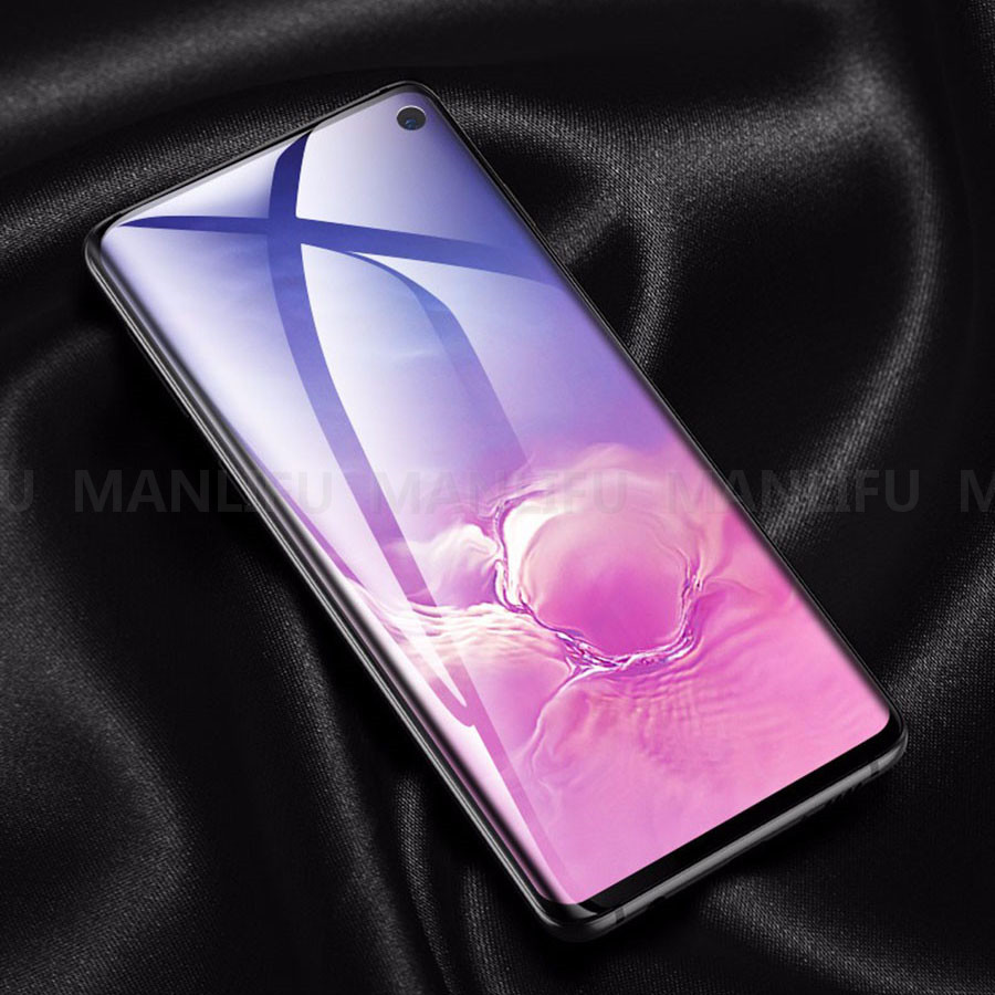 6D Soft TPU Silicone Hydrogel Clear Tempered Glass Screen Protector For Samsung Galaxy 10