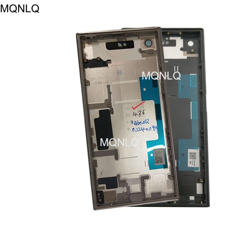 LCD Medio telaio con Portello della batteria della copertura Dellalloggiamento per Sony Xperia XZ1 G8341 G8342 AlloggiamentoLCD Medio telaio con Portello della batteria della copertura Dellalloggiamento per Sony Xperia XZ1 G8341 G8342 Alloggiamento
