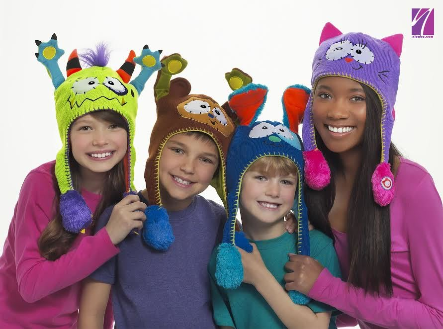 Party Squeeze Dancing Kitty Monster Hat Toy Flipeez Peek-a-Boo Puppy Action Cartoon Children's Ears Flip Hat Tails Action Toy
