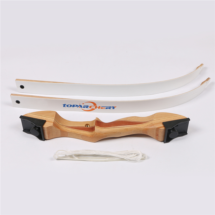 1 pc takedown wood recurve bow 54 inch 16-28LBS archery training bow adult and youth practicing bow rc503b 09 horizontal associated with the midpoint of the single handle length 13mm potentiometer b50k