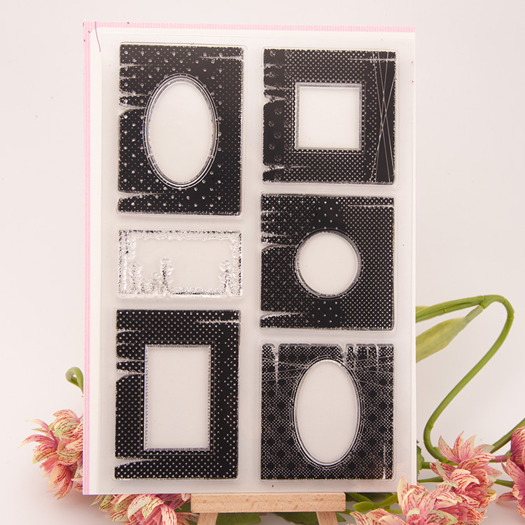 Scrapbook DIY photo cards account rubber stamp clear stamp transparent stamp Special Box Side 14.5x21.5cm SD291 lovely animals and ballon design transparent clear silicone stamp for diy scrapbooking photo album clear stamp cl 278