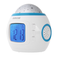 Music Starry Alarm Projection Clock Star Sky Calendar Thermometer With Retail Package Dropshipping Best Gift