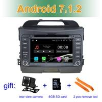 2 GB RAM Android 7.1 Car DVD Player for Kia Sportage 2010 2011 2012 2013 2014 2015 with Radio WiFi Bluetooth GPS