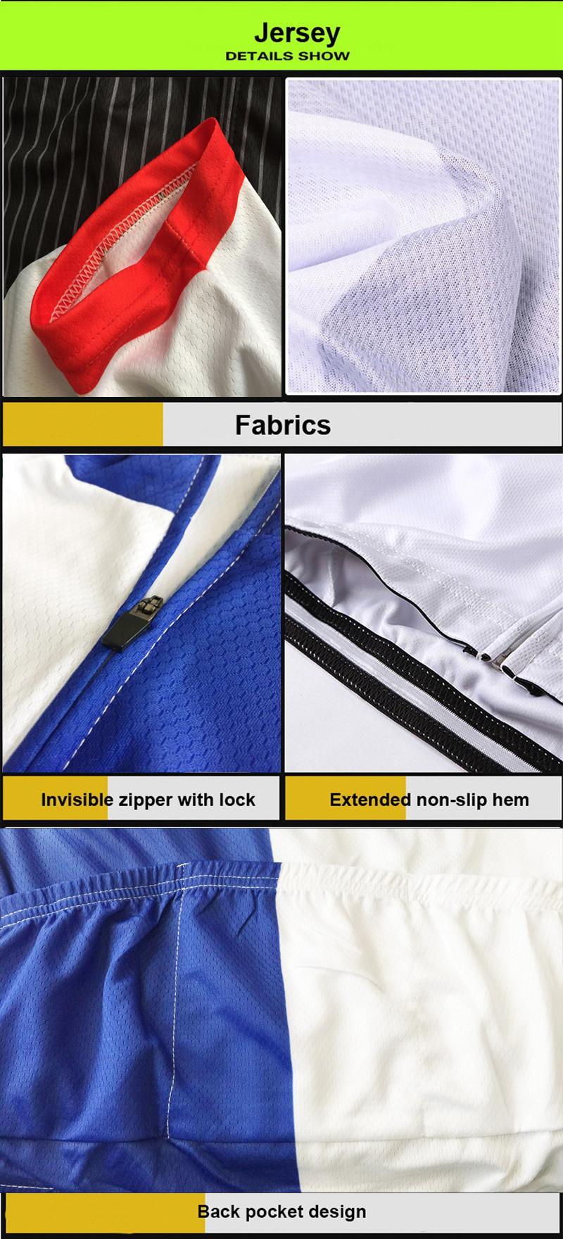 Jersey detail showing