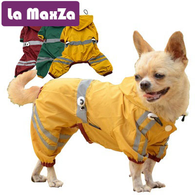 Dog Raincoats Purposeful Pet Dog Hooded Raincoat For Small To Large Dogs Reflective Dog Waterproof Rain Coat Jacket For Golden Retriever Labrador Xs-xxl Promote The Production Of Body Fluid And Saliva