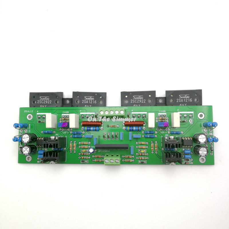 UPC2581V push Sanken tube 150w*2 power amplifier board|Power Tool Accessories|Tools - title=