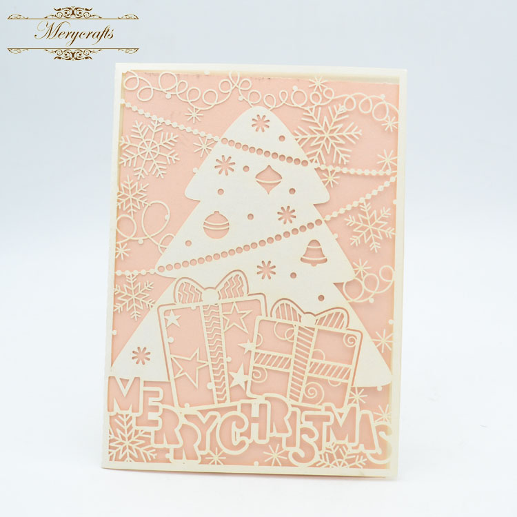 Party products laser cut Christmas tree wedding decoration