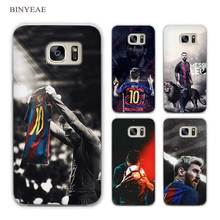 BINYEAE Lionel Messi Clear Phone Case Cover for Sam