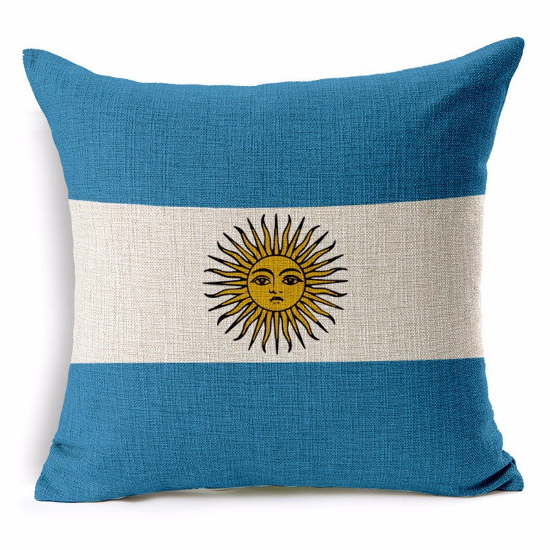 Argentina Pillowcase Cushion Cover