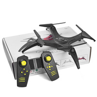 Detachable RC Drone Aircraft WiFi Remote Control With LED Light One Key Function 360 Degree Rotation ( Without Camera )