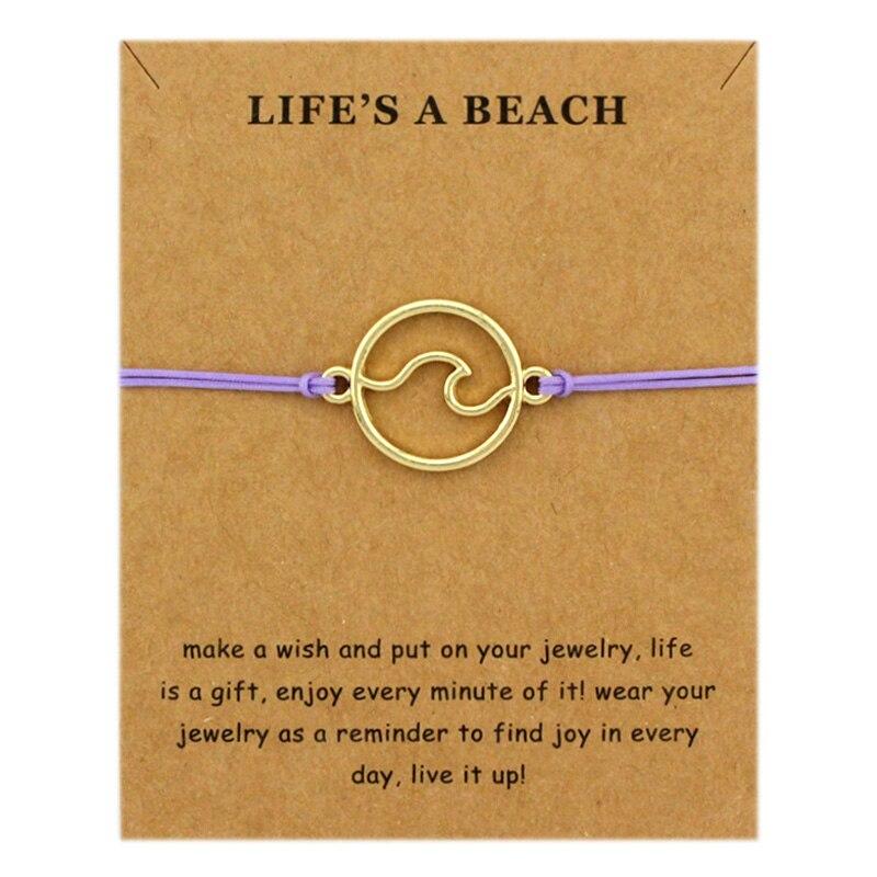 Beachin Bracelet Set (Wave or Sea Turtle) 3