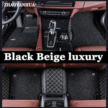 ZHAOYANHUA Car floor mats Case for Fiat Viaggio S Freemont bravo Ottimo 6D car-styling heavy duty carpet floor liner