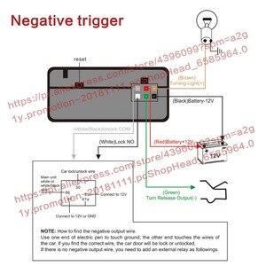 Image 5 - Akıllı telefon oto alarm sistemi cep telefonu sallayarak 2 kez açma/kilit. orijinal araba siren veya dönüş lambası çıkış göstergesi.