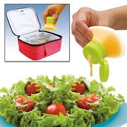 Mini Squeeze butelka na sos silikonowy sos sałatkowy sos słoiki na Ketchup majonez pojemnik na lunch na piknik akcesoria kuchenne